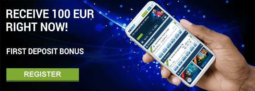 Vorteile des Anbieters: Wettprogramm, 1xBet Live Streaming und mobile App